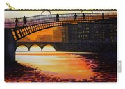 Ha Penny Bridge Reflections Carry-all Pouch