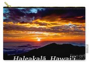 Haleakala Hawaii Carry-all Pouch