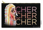 Half Breed Cher Carry-all Pouch