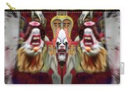 Halloween Scary Clown Heads Mirrored Carry-all Pouch