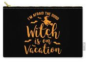 Halloween Shirt Good Witch On Vacation Gift Tee Carry-all Pouch
