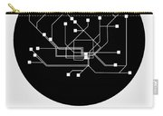 Hamburg Black Subway Map Carry-all Pouch