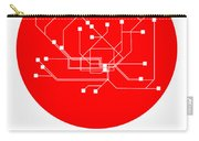 Hamburg Red Subway Map Carry-all Pouch