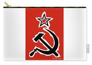 Hammer And Sickle Grunge Carry-all Pouch