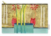 Indian Hand Painted Palace Wall Carry-all Pouch