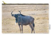 Handsom Wildebeest On The Plains Carry-all Pouch