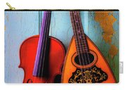 Hanging Violin And Mandolin Carry-all Pouch