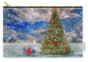 Happy Christmas Parrot Carry-all Pouch
