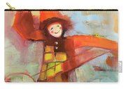 Happy Clown Carry-all Pouch by Michelle Abrams