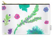 Happy Flower - Pintoresco Art By Sylvia Carry-all Pouch