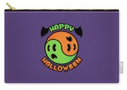 Happy Halloween Ghost Yin-yang Carry-all Pouch