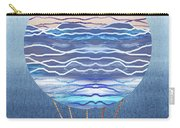 Happy Hot Air Balloon Watercolor Xxvi Carry-all Pouch