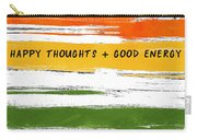 Happy Thoughts Rainbow- Art By Linda Woods Carry-all Pouch