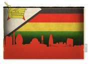 Harare Zimbabwe World City Flag Skyline Carry-all Pouch