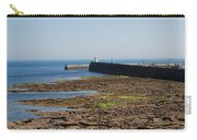 harbour at Seahouses on hazy summer day Carry-all Pouch