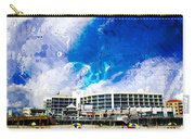 Hard Rock Beach Abstract Carry-all Pouch