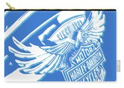 Harley Davidson Tank Logo Abstract Artwork Carry-all Pouch