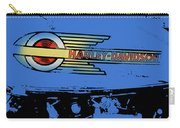 Harley Davidson Tank Logo Blue Artwork Carry-all Pouch
