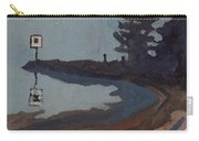 Harmony Beach Fog And Rain Carry-all Pouch