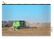 Harvesting Soybeans Carry-all Pouch