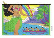 Hawaii Poster - Pop Art - Travel Carry-all Pouch