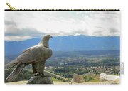 Hawk Overseeing Village. Carry-all Pouch