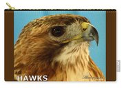 Hawks Mascot 3 Carry-all Pouch