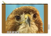 Hawks Mascot 4 Carry-all Pouch
