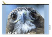 Hawks Mascot Carry-all Pouch