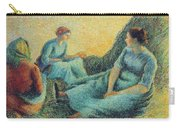 Haymakers Resting, 1891 Carry-all Pouch