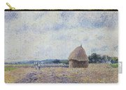 Haystack- Eragny, 1895 Carry-all Pouch