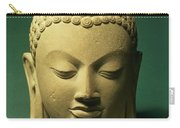 Head Of The Buddha, Sarnath Carry-all Pouch