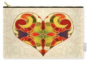 Heart Illustration - Creating Passionate Experience - Omaste Witkowski Carry-all Pouch by Omaste Witkowski