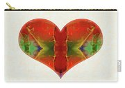 Heart Painting - Vibrant Dreams - Omaste Witkowski Carry-all Pouch by Omaste Witkowski