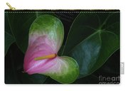 Hearts And Flowers Carry-all Pouch