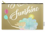 Hello Sunshine Carry-all Pouch