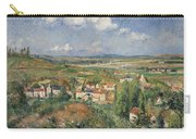 Hermitage In Summer, Pontoise, 1877 Carry-all Pouch