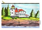 Heron Neck Lighthouse- Maine Carry-all Pouch