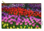 Hidden Garden Of Beautiful Tulips Carry-all Pouch