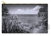 Hiking On Tiritiri Matangi New Zealand Bw Carry-all Pouch