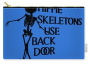 Hippie Skeletons Use Back Door Png Carry-all Pouch