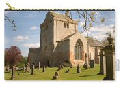 historic Crichton Church and graveyard in Scotland Carry-all Pouch