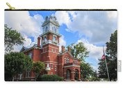 Historic Gwinnett County Courthouse Carry-all Pouch by Doug Camara