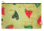 Historic Hearts Carry-all Pouch