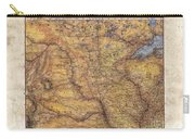 Historical Map Hand Painted Lake Superior North Dakota Minnesota Carry-all Pouch