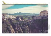 historical village of Ronda, Spain Carry-all Pouch by Ariadna De Raadt