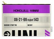 Hnl Honolulu Luggage Tag I Carry-all Pouch