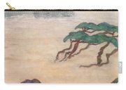 Hoitsu Through The Eyes Of Modernity Turned Backward Carry-all Pouch