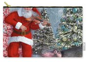 Holiday Hippo Dancing Cheer Carry-all Pouch