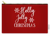 Holly Jolly Christmas Carry-all Pouch
